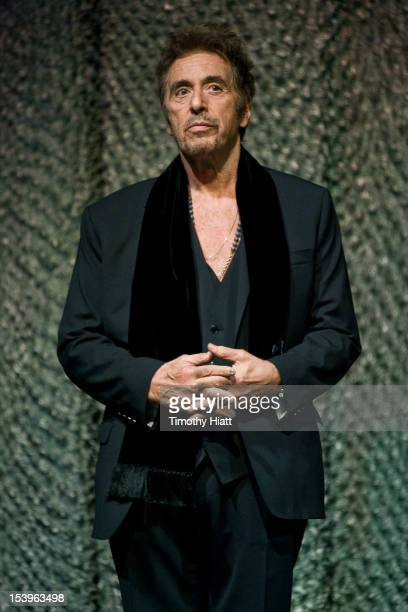 Al Pacino attends the 'Stand Up Guys' premiere during the opening night of the 48th Chicago International Film Festival at the Harris Theater on...
