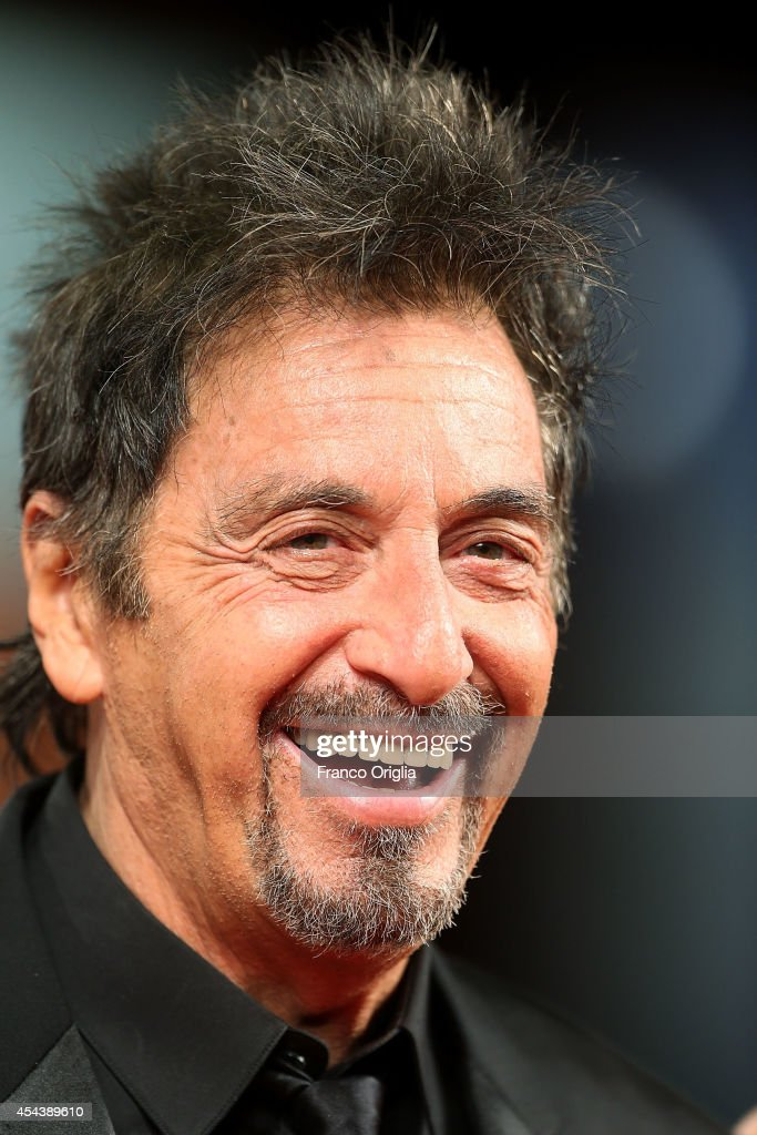 <a gi-track='captionPersonalityLinkClicked' href=/galleries/search?phrase=Al+Pacino&family=editorial&specificpeople=202658 ng-click='$event.stopPropagation()'>Al Pacino</a> attends the 'The Humbling' Premiere during the 71st Venice Film Festival on August 30, 2014 in Venice, Italy.