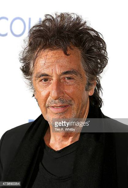 Al Pacino attends the UK Premiere of 'Danny Collins' at the Ham Yard Hotel on May 18 2015 in London England