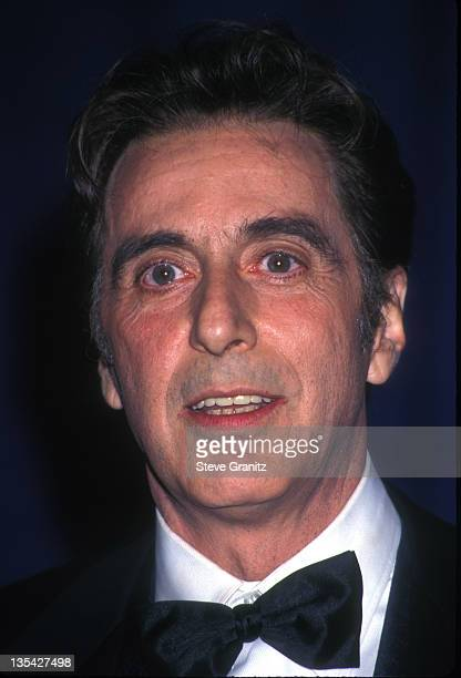 Al Pacino during Al Pacino File Photos in Los Angeles California United States