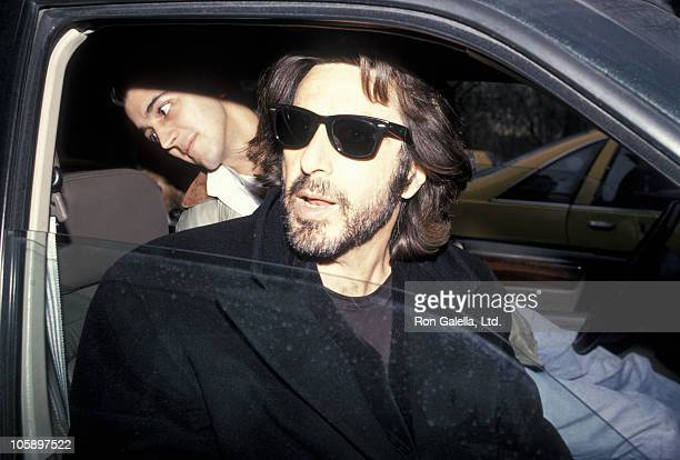 Al Pacino during Al Pacino Sighting in New York City March 31 1994 at New York City in New York City New York United States
