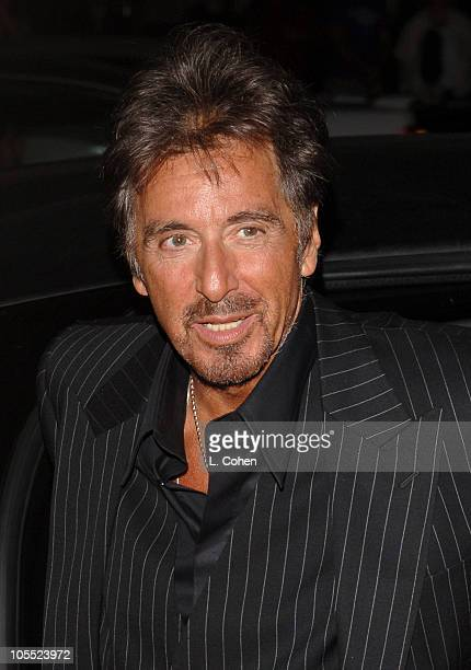 Al Pacino during 'Two for the Money' World Premiere CoPresented By Bodogcom Red Carpet at Samuel Goldwyn Theater in Los Angeles California United...