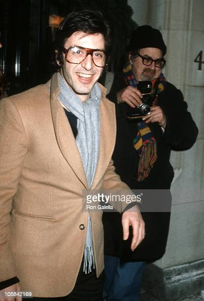 Al Pacino during Woody Allen's New Years Eve Party at Harkness House in New York City New York United States