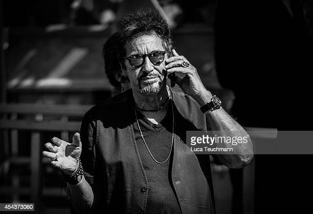 Al Pacino is seen during The 71st Venice International Film Festival on August 30 2014 in Venice Italy