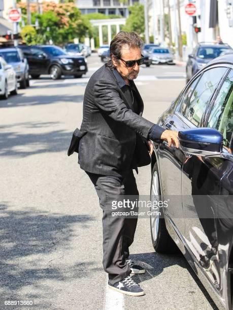 Al Pacino is seen on May 26 2017 in Los Angeles California