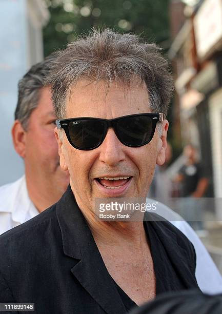 Al Pacino on location for 'You Don't Know Jack' on the streets of Brooklyn on September 1 2009 in New York City