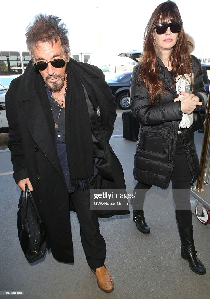 Al Pacino seen at LAX on November 17 2014 in Los Angeles California