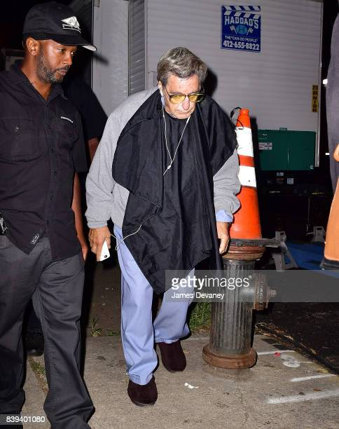 Al Pacino seen on location for untitled HBO movie in the Bronx on August 25 2017 in New York City