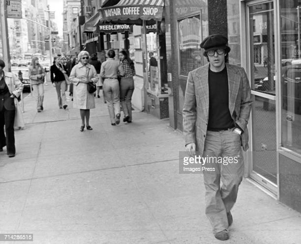 Al Pacino spotted on the streets of New York circa 1977 in New York City