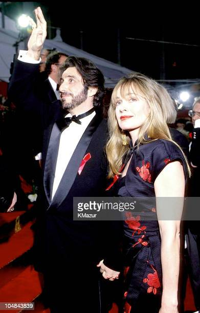 Al Pacino Wife during 65th Annual Academy Awards at Shrine Auditorium in Los Angeles California United States