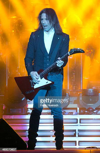 Al Pitrelli of the TransSiberian Orchestra performs live during a concert at the Tempodrom on January 25 2014 in Berlin Germany