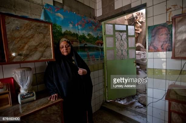 Al Qaeda bombed this building the day before elections in March Hasim Saleem 50 said her house was bombed and she and her mother had to borrow money...