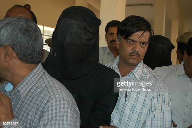 Al Qaeda suspected terrorists arrested in Mysore and brought to Bangalore for Brain mapping test they are accompanied by DCP KT Balakrishna