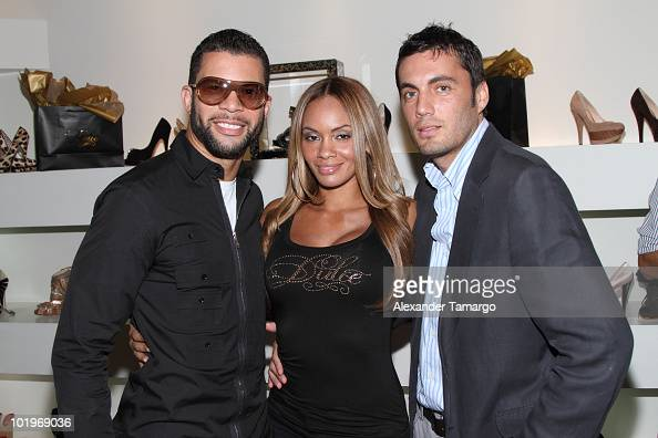 Al Reynolds Evelyn Lozada and Fabian Basabe attend Dulce Shoes VH1's Evelyn Lozada Celebrate The Hotness Of Georgina Goodman at Dulce Shoe Boutique...