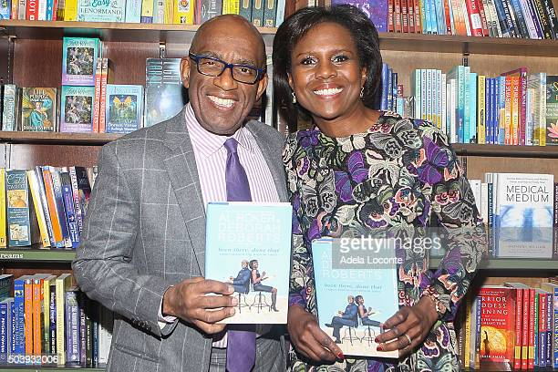 Al Roker and Deborah Roberts attend 'Been There Done That' at Barnes Noble 82nd Street on January 7 2016 in New York City