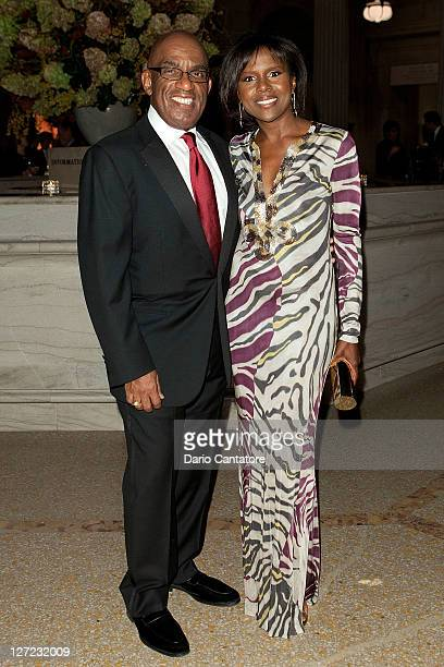 Al Roker and Deborah Roberts attend the Multicultural Benefit Gala to Celebrate 'An Evening of Many Cultures' at the Metropolitan Museum of Art on...