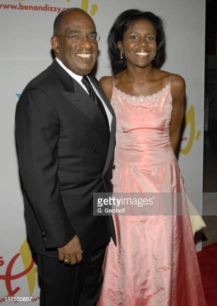 Al Roker and Deborah Roberts during Gala Dinner Introducing 'Ben and Izzy' with Special Guest Her Majesty Queen Rania AlAbdullah of Jordan at...