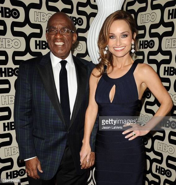 Al Roker and Giada De Laurentiis attend the HBO after party at the 70th annual Golden Globe Awards at Circa 55 restaurant at the Beverly Hilton Hotel...