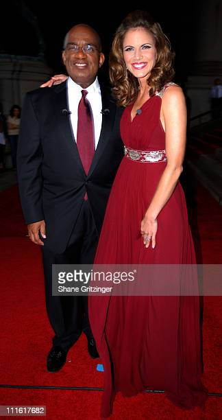 Al Roker and Natalie Morales during The Second Annual Quill Awards Gala at The American Museum of Natural History in New York City New York United...