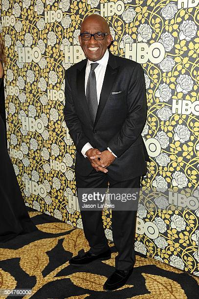 Al Roker attends HBO's post 2016 Golden Globe Awards party at Circa 55 Restaurant on January 10 2016 in Los Angeles California