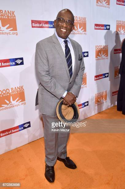 Al Roker attends the Food Bank for New York City CanDo Awards Dinner 2017 on April 19 2017 in New York City