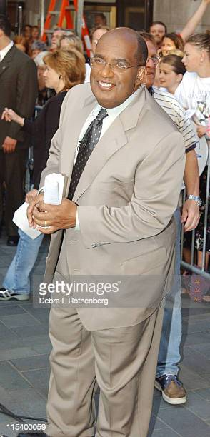 Al Roker during Al Roker On 'The Today Show Summer Concert Series' July 5th 2002 at Rockefeller Plaza in New York City New York United States