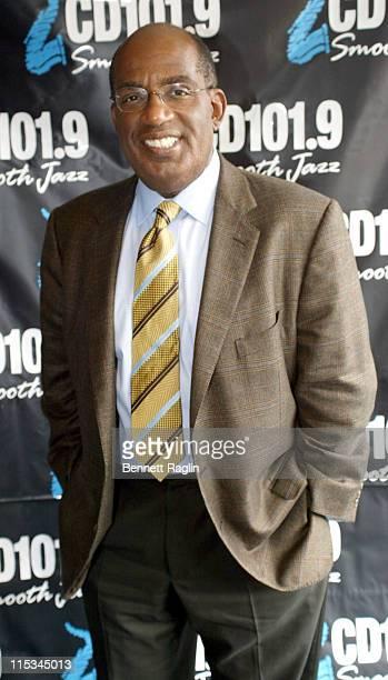 Al Roker during Al Roker Visits Smooth Jazz CD1019 October 27 2005 at CD101 Studios in New York City New York United States