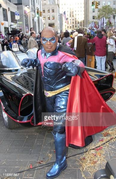 Al Roker during NBC 'Today' Show Hosts Celebrate Halloween 2005 at NBC Studios Rockefeller Plaa in New York City New York United States