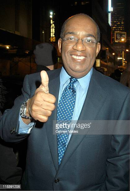 Al Roker during We Are Family Foundation at The China Club in New York City New York United States
