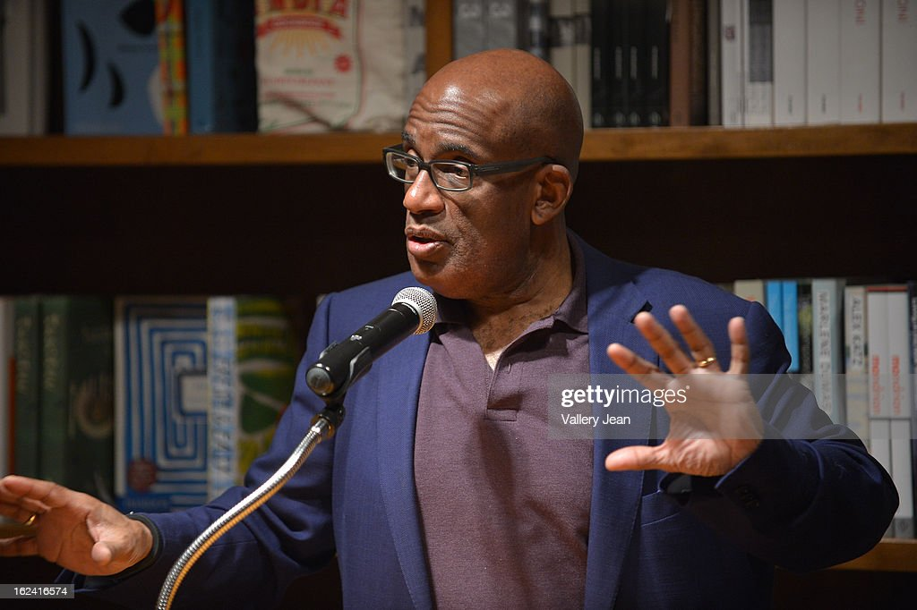 Al Roker greets fans and signs copies of his book 'Never Goin Back: Winning the Weight Loss Battle for Good' at Books and Books on February 22, 2013 in Coral Gables, Florida.