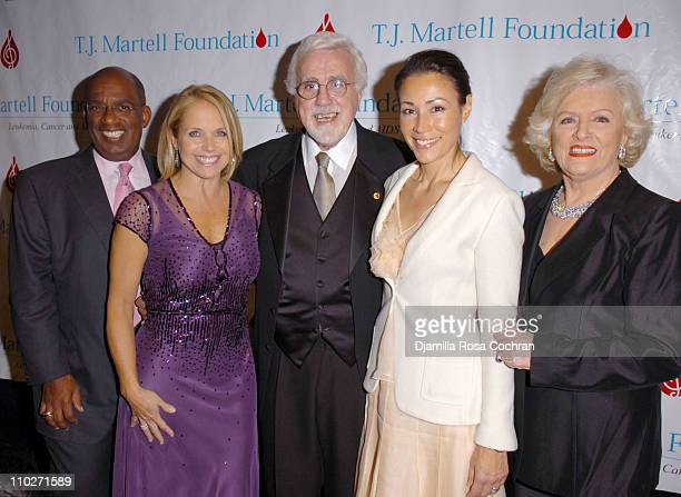 Al Roker Katie Couric Tony Martell Ann Curry and Frances W Preston