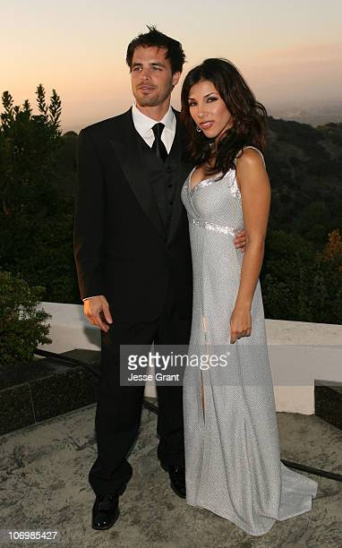 Al Santos and Adrianna Costa during 3rd Annual Alfred Mann Foundation Innovation and Inspiration Gala Honoring Richard and Nancy Riordan at Mann...