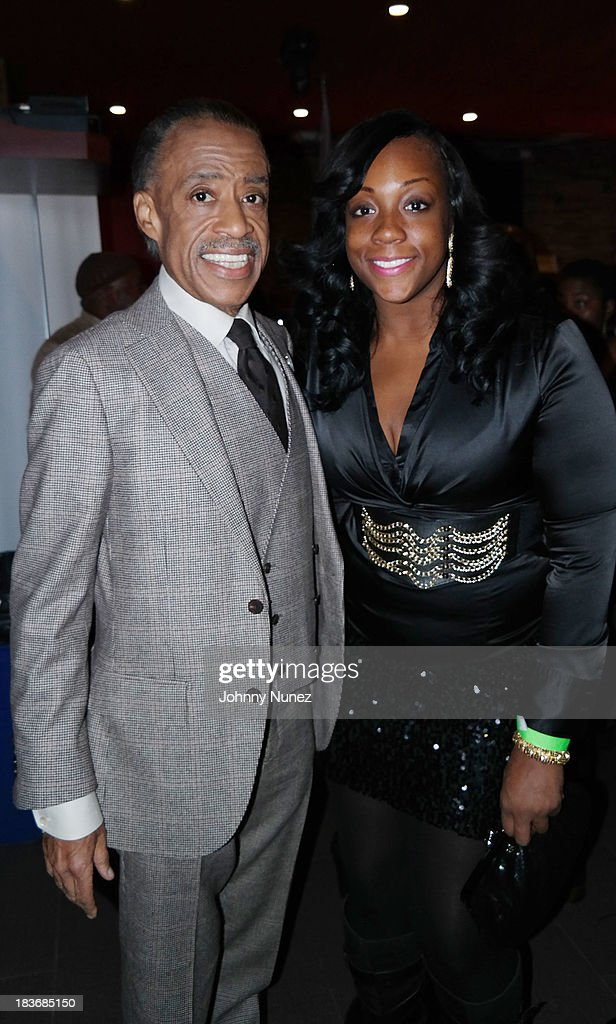 <a gi-track='captionPersonalityLinkClicked' href=/galleries/search?phrase=Al+Sharpton&family=editorial&specificpeople=202250 ng-click='$event.stopPropagation()'>Al Sharpton</a> and Dominique Sharpton attend Reverend <a gi-track='captionPersonalityLinkClicked' href=/galleries/search?phrase=Al+Sharpton&family=editorial&specificpeople=202250 ng-click='$event.stopPropagation()'>Al Sharpton</a> 'Rejected Stone: <a gi-track='captionPersonalityLinkClicked' href=/galleries/search?phrase=Al+Sharpton&family=editorial&specificpeople=202250 ng-click='$event.stopPropagation()'>Al Sharpton</a> And The Path To American Leadership' Book Reception at Stage 48 on October 8, 2013 in New York City.