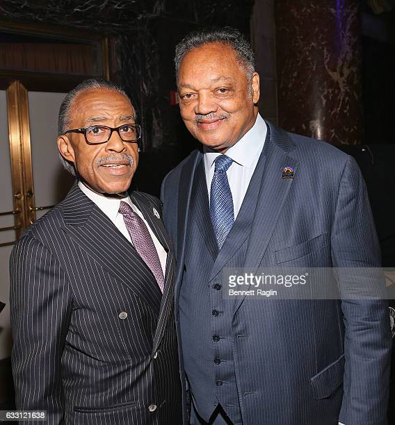 Al Sharpton and Jesse Jackson attend the National CARES Mentoring Movement's 2nd Annual 'For the Love of Our Children' Gala at Cipriani 42nd Street...