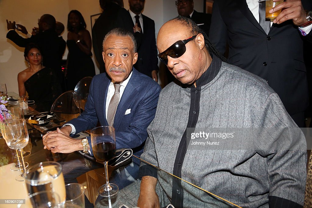 <a gi-track='captionPersonalityLinkClicked' href=/galleries/search?phrase=Al+Sharpton&family=editorial&specificpeople=202250 ng-click='$event.stopPropagation()'>Al Sharpton</a> and <a gi-track='captionPersonalityLinkClicked' href=/galleries/search?phrase=Stevie+Wonder&family=editorial&specificpeople=171911 ng-click='$event.stopPropagation()'>Stevie Wonder</a> attend Kedar Massenburg's 50th Birthday Celebration at Water Fall Mansion on February 28, 2013 in New York City.