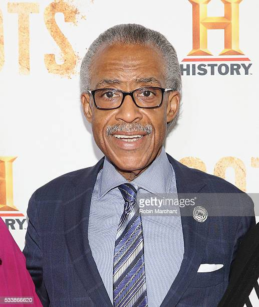 Al Sharpton attends 'Roots' Night One Screening at Alice Tully Hall Lincoln Center on May 23 2016 in New York City
