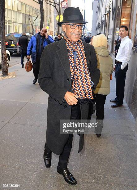 Al Sharpton is seen in 'Midtown on January 4 2016 in New York City