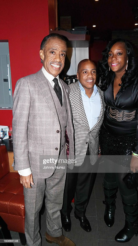 <a gi-track='captionPersonalityLinkClicked' href=/galleries/search?phrase=Al+Sharpton&family=editorial&specificpeople=202250 ng-click='$event.stopPropagation()'>Al Sharpton</a>, Kedar Massenburg and Dominique Sharpton attend Reverend <a gi-track='captionPersonalityLinkClicked' href=/galleries/search?phrase=Al+Sharpton&family=editorial&specificpeople=202250 ng-click='$event.stopPropagation()'>Al Sharpton</a> 'Rejected Stone: <a gi-track='captionPersonalityLinkClicked' href=/galleries/search?phrase=Al+Sharpton&family=editorial&specificpeople=202250 ng-click='$event.stopPropagation()'>Al Sharpton</a> And The Path To American Leadership' Book Reception at Stage 48 on October 8, 2013 in New York City.