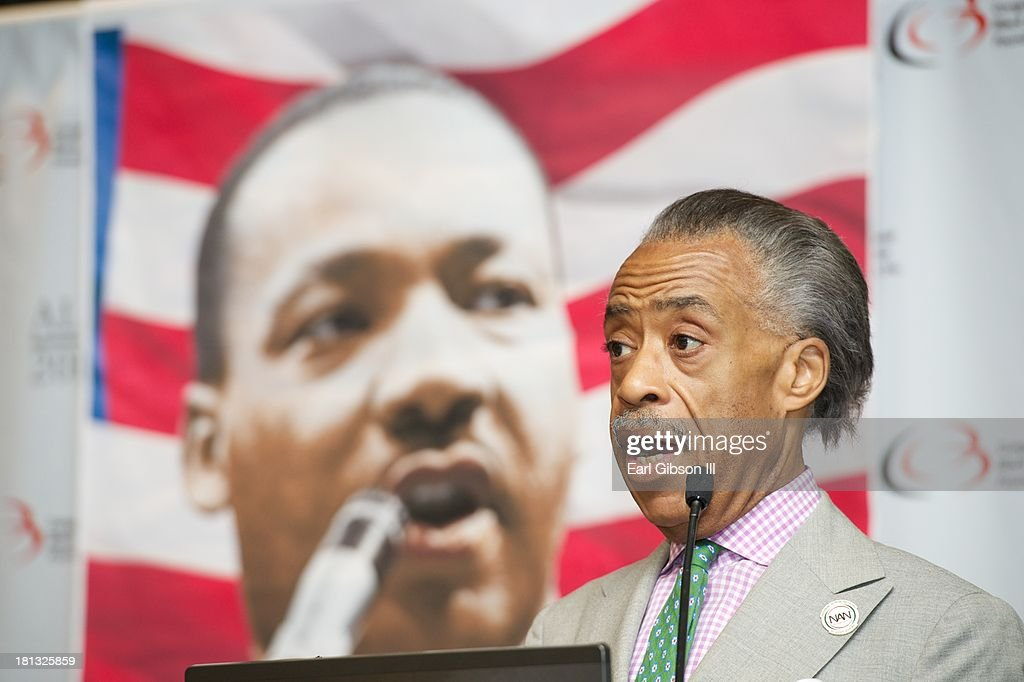 Al Sharpton serves as a moderator for a session entitled 'Saving Our Sons' on Day 3 of the 43rd Annual Legislative Conference on September 20, 2013 in Washington, DC.