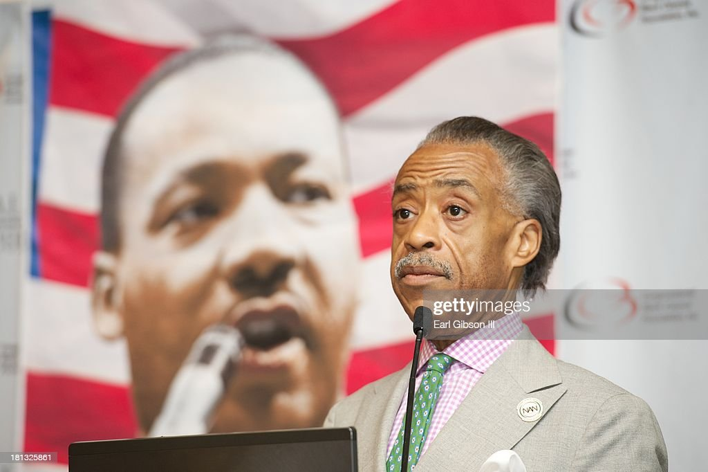 <a gi-track='captionPersonalityLinkClicked' href=/galleries/search?phrase=Al+Sharpton&family=editorial&specificpeople=202250 ng-click='$event.stopPropagation()'>Al Sharpton</a> serves as a moderator for a session entitled 'Saving Our Sons' on Day 3 of the 43rd Annual Legislative Conference on September 20, 2013 in Washington, DC.