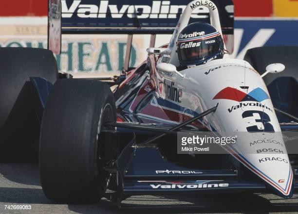 Al Unser Jr of the United States drives the Galles Racing Galmer G92 Chevrolet 265A during the Championship Auto Racing Teams 1992 PPG Indy Car World...