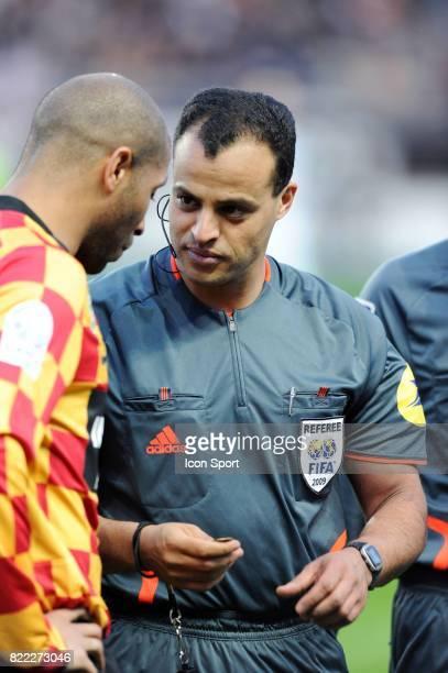 Ala Eddine YAHIA / Said ENNJIMI Amiens / Lens 30eme journee de Ligue 2 Stade de la Licorne Amiens