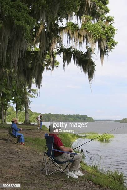 Alabama Eufaula Lakeland Resort State Park Chattahoochee River Wetland Upland Habitat Fishing