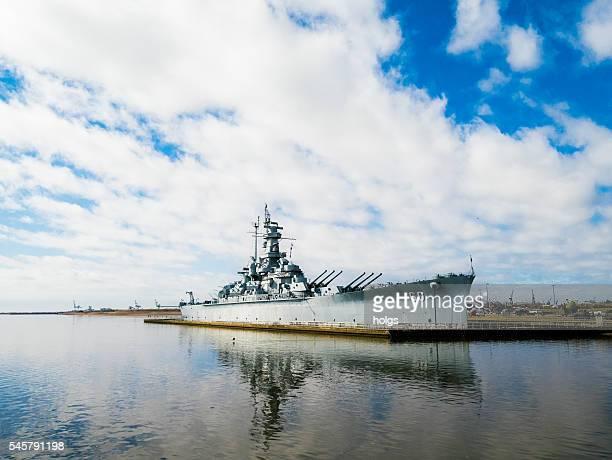 USS Alabama in Mobile, Alabama