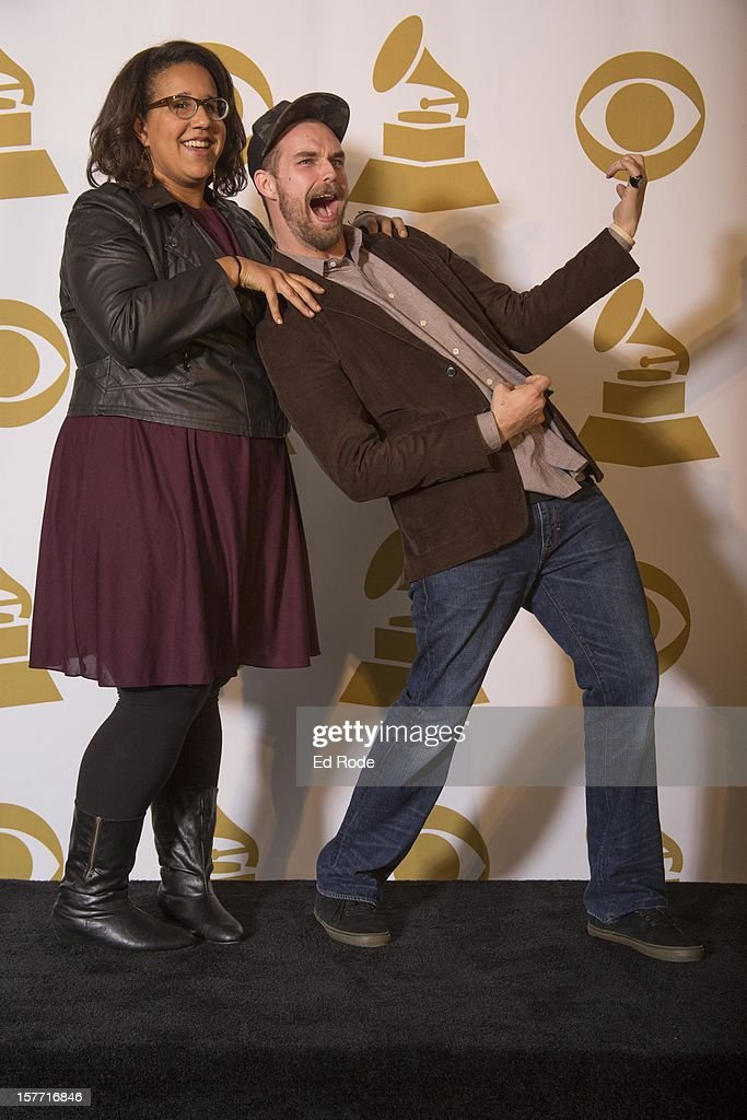 Alabama Shakes members Brittany Howard and Steve Johnson attend The GRAMMY Nominations Concert Live!! at Bridgestone Arena on December 5, 2012 in Nashville, Tennessee.