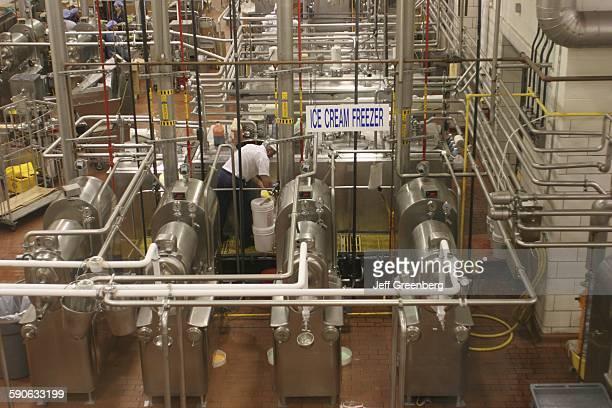 Alabama Sylacauga Blue Bell Creameries Ice Cream Making Plant