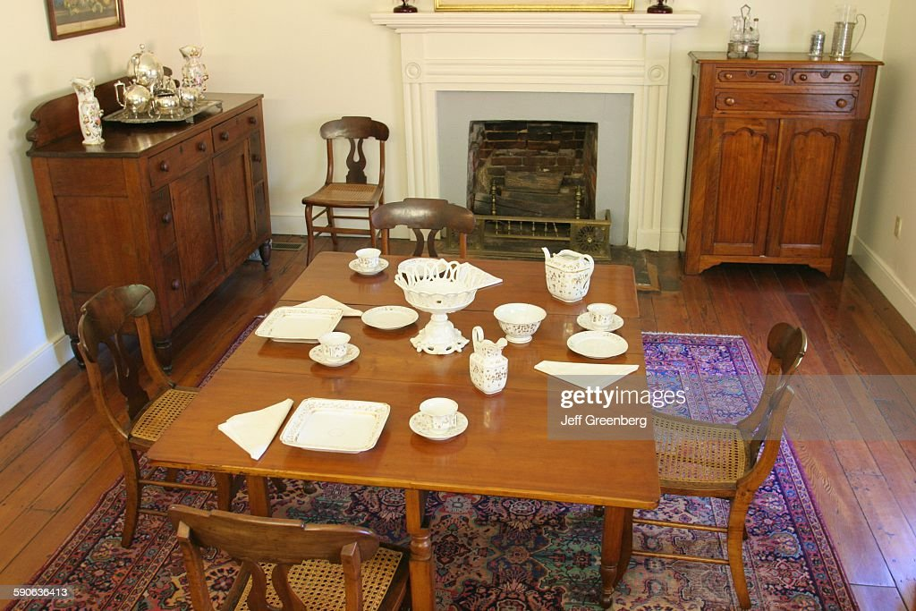 Helen Keller Birthplace, Dining Room Pictures | Getty Images