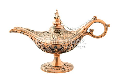 Aladdin Lampe Daladin Isole Sur Blanc Photo Thinkstock