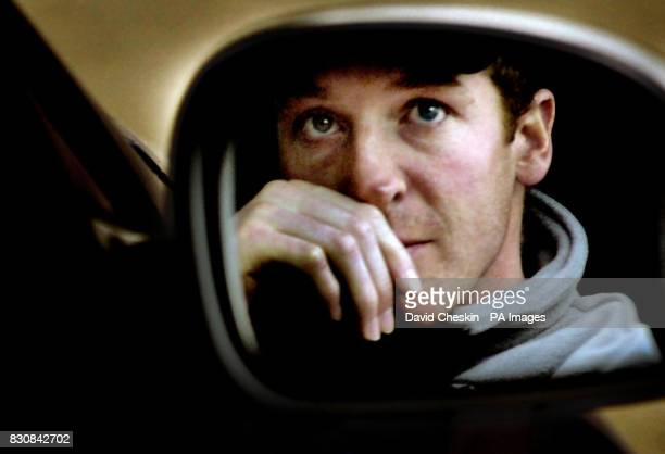 Alain Baxter reflected in the wing mirror of his car at the dry slopes of Midlothian ski centre near Edinburgh Baxter announced Thursday that he has...