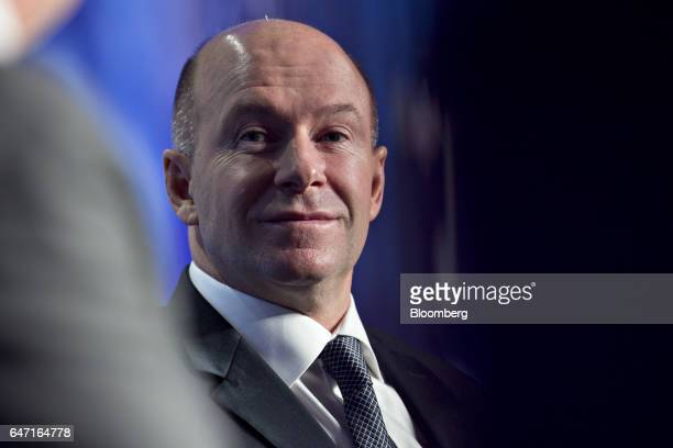 Alain Bellemare president and chief executive officer of Bombardier Inc speaks during a discussion at the US Chamber of Commerce aviation summit in...